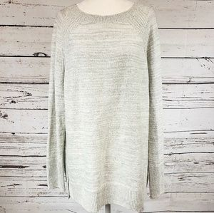 Lou & Grey Large Sweater light gray